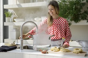 Quooker kochendes Wasser, kochend Wasserhahn von Schreinerei Leim&Späne München